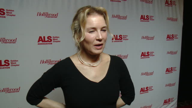 interview renee zellweger at the als association golden west chapter's 2017 champions for care and a cure at fairmont miramar hotel on december 02... - renee zellweger stock videos & royalty-free footage