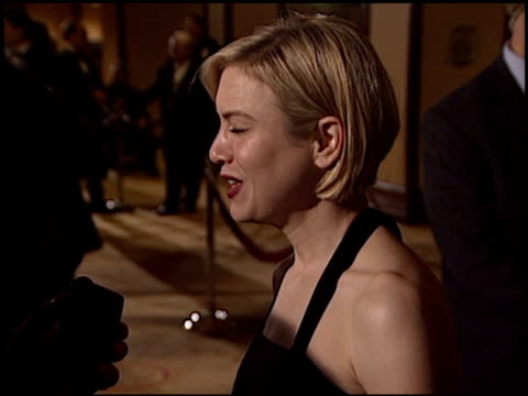 renee zellweger at the dga director's guild of america awards at the century plaza hotel in century city california on march 2 2003 - director's guild of america stock videos & royalty-free footage