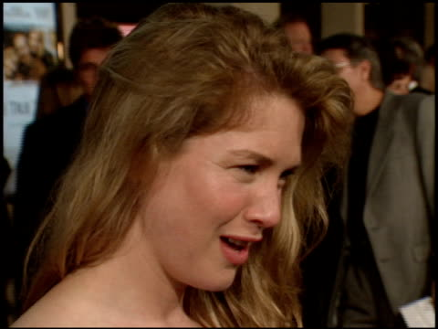 renee zellweger at the 'one true thing' premiere at cineplex odeon in century city california on september 16 1998 - renee zellweger stock videos & royalty-free footage