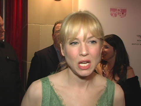 Renee Zellweger on how she became involved with What A Pair and on if she would sing at next years event at the What A Pair 3 A Celebrity Concert ot...