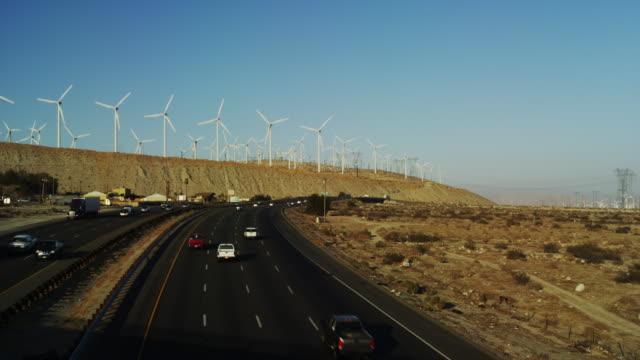 Renewable Energy Wind Turbines generating Power