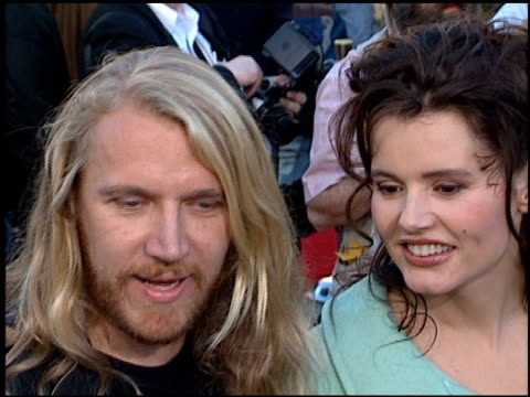 renny harlin at the 'batman foreve'r premiere on june 9, 1995. - レニー ハーリン点の映像素材/bロール