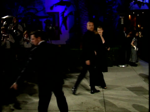 renny harlin is photographed by paparazzi. - vanity fair oscar party stock videos & royalty-free footage