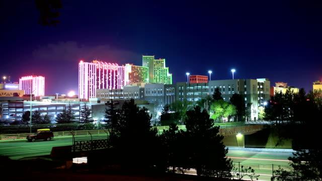 リノ、nv - ネバダ州点の映像素材/bロール