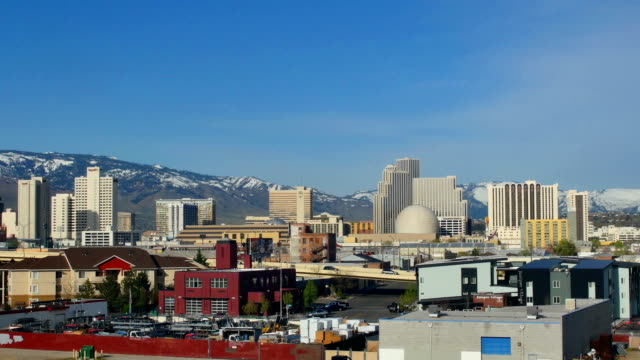 reno, nv - nevada stock-videos und b-roll-filmmaterial