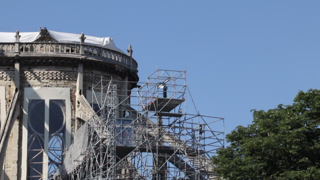 Renovation of Notre Dame de Paris, Consolidation