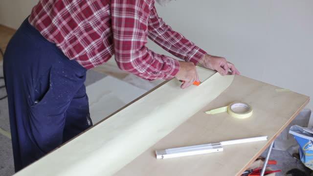 vidéos et rushes de travaux de rénovation - papier peint