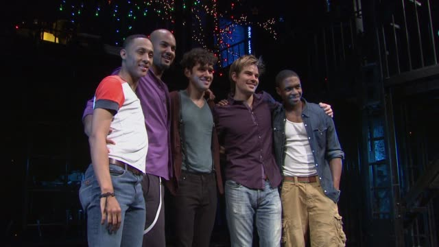 'Rent' OffBroadway Cast Photocall New York NY United States
