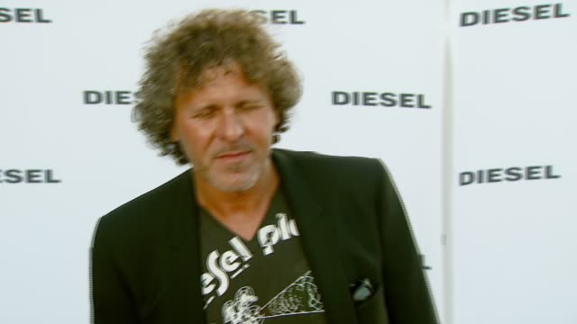 renzo rosso at the diesel celebrates the opening of the melrose place flagship store at diesel melrose place in los angeles california on may 30 2007 - rosso stock videos & royalty-free footage