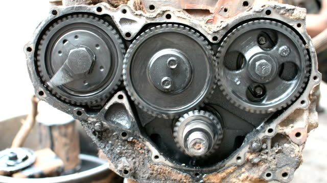 repairing the engine gear - obesity icon stock videos & royalty-free footage