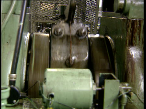 repeating action of crank shaft on machine - piston stock videos & royalty-free footage