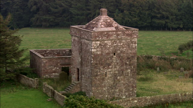 repentance tower - galloway scotland stock videos & royalty-free footage