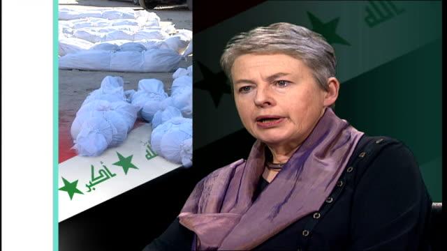 Report claims 650 thousand Iraqis dead since war ENGLAND London GIR INT Professor Sheila Bird interview SOT they ahve enhanced the precision this...