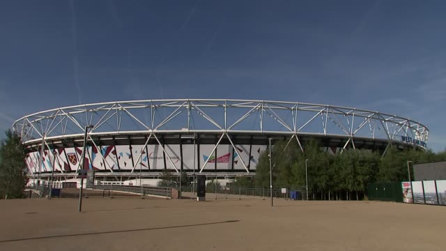 WADA report claims Russia corrupted the London 2012 Olympic Games on an unprecedented scale ENGLAND London Stratford Olympic Park DAY London Stadium...