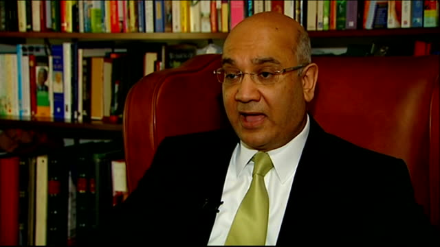 report concludes that police federation crusades against politicians must end; london: westminster: int keith vaz mp interview sot - talks of... - the crusades stock videos & royalty-free footage