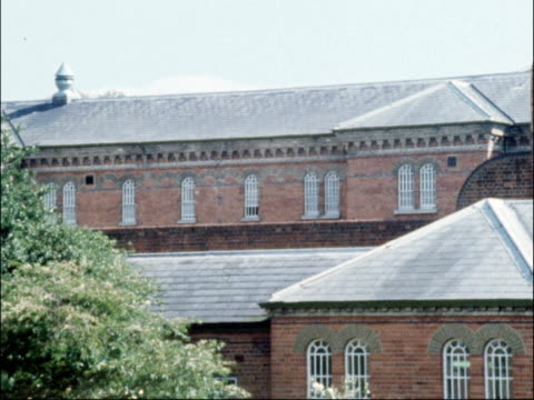 report criticises department of health for failures in dealing with broadmoor patients england berkshire broadmoor hospital ext general views of... - psychiatric hospital stock videos and b-roll footage