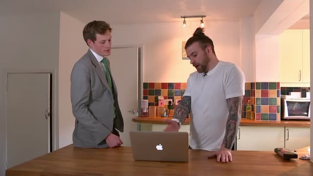 Report from MPs highlights dangers faced by children of alcoholics ENGLAND INT Josh Connolly chatting to reporter SOT