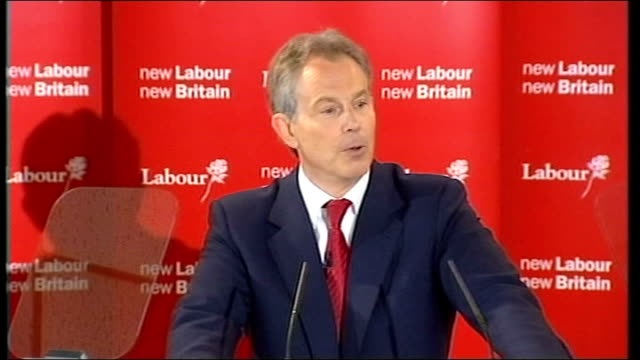 report on bush/blair special relationship t10050719 county durham sedgefield trimdon labour club int tony blair mp resignation speech sot i may have... - county durham england stock videos & royalty-free footage