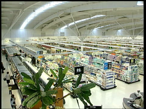 report on supermarket prices completed; england: london: int tgv asda supermarket r-l copy of competition commission report into supermarket pricing... - biological process stock videos & royalty-free footage