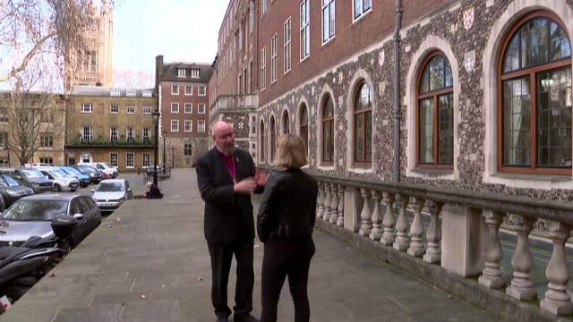 report shows the impact of gay conversion therapy on mental health in uk england int candle and flowers in church rt revd paul bayes set up shot with... - religion stock videos & royalty-free footage