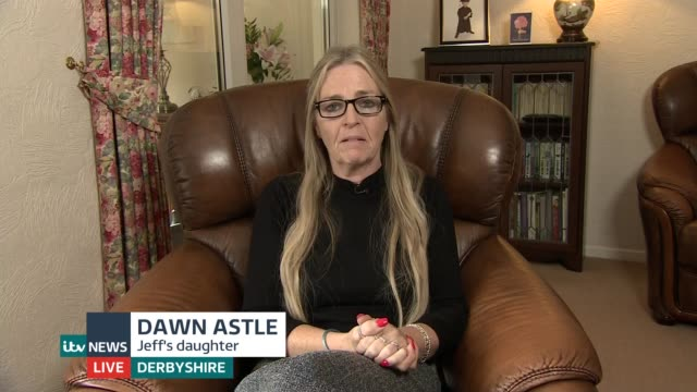 report states exfootballers more likely to die from dementia england london gir int dawn astle live 2way interview from derbyshire sot - jeff astle stock videos & royalty-free footage