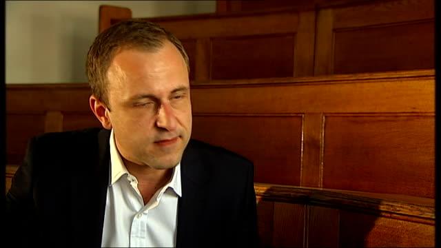 stockvideo's en b-roll-footage met us reporter james foley beheaded by islamic state terrorist group professor peter neumann interview sot - onthoofd