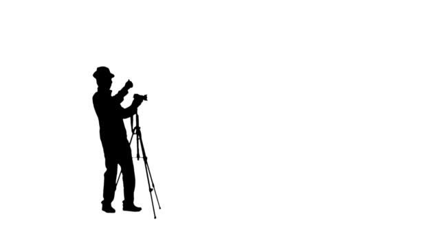 vídeos y material grabado en eventos de stock de informante - silueta