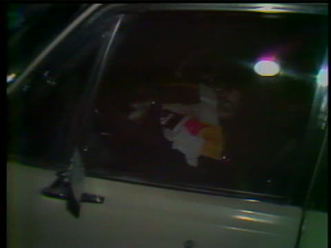 reporters and bystanders surround serial killer david berkowitz's vehicle in 1977. on items seen in the vehicle. david richard berkowitz , also known... - msnbc stock videos & royalty-free footage