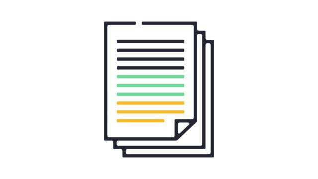 Reports Icon Animation