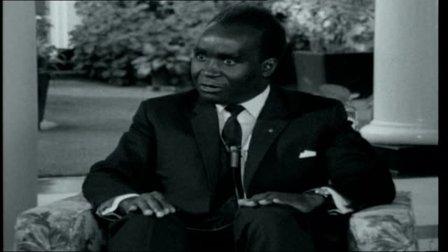 independence in zambia zambia lusaka int interview with kenneth kaunda sot zambian independence has brought about big change / bound to be... - kenneth kaunda stock videos & royalty-free footage