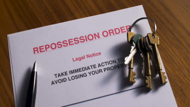 repossession order - homelessness stock videos & royalty-free footage