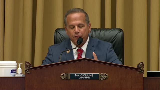 representative david cicilline remarks on big tech dominance during the house judiciary committee digital competition hearing in washington d.c. - big tech stock videos & royalty-free footage