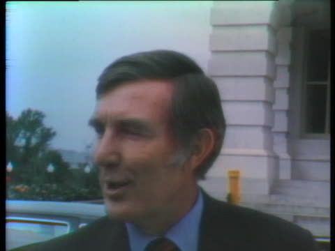 representative morris udall rejects vice president spiro agnew's request for a house investigation into his affairs. - request stock videos & royalty-free footage