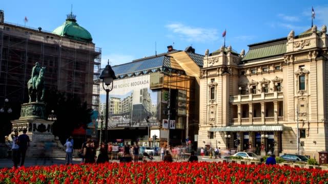republic square - osteuropäische kultur stock-videos und b-roll-filmmaterial