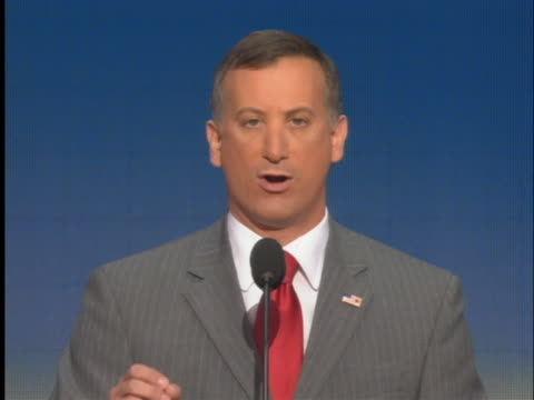 republican legislator representing the 24th assembly district, david cappiello speaks at the 2008 republican national convention. - legislator stock videos & royalty-free footage