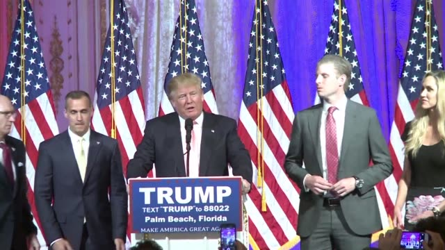 Republican presidential frontrunner Donald Trump romps to victory in the Florida primary thwarting party efforts to stop his march to the White House...