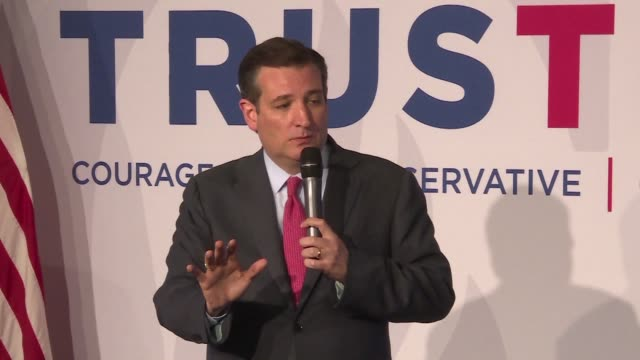 republican us presidential contender ted cruz on wednesday defended his call for increased police patrols in muslim neighborhoods saying criticism... - symptom stock videos and b-roll footage