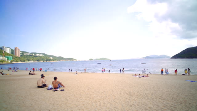 repulse bay hong kong beach - panning stock videos & royalty-free footage