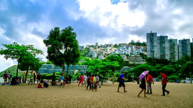 repulse bay warmen sonne - insel hong kong island stock-videos und b-roll-filmmaterial