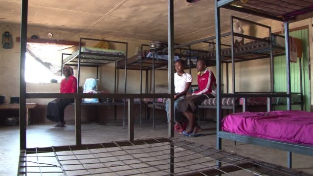 a rescue centre in the town of narok in the maasai heartland takes in young girls who are fleeing a traditional circumcision ceremony that can lead... - feierliche veranstaltung stock-videos und b-roll-filmmaterial