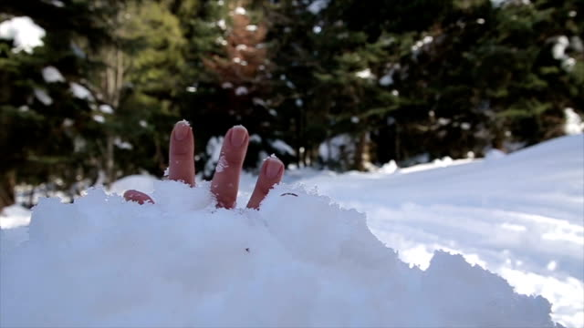 rescue from a snowy avalanche,b roll - rescue stock videos & royalty-free footage