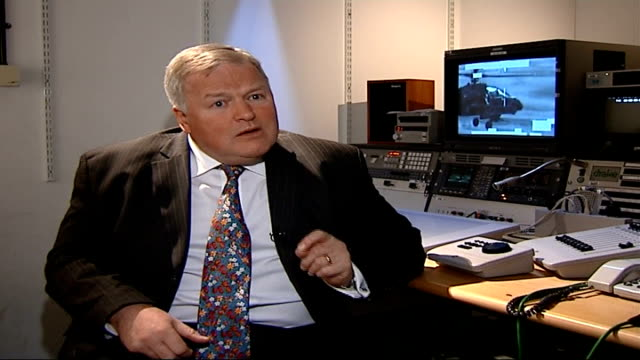 rescue mission by royal marines in attempt to save fallen comrade england int colonel bob stewart interview sot - itv weekend evening news stock-videos und b-roll-filmmaterial