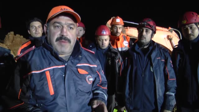Rescue operation at copper mine in Siirt province following collapse that caused several deaths continues in Turkey's southeastern province of Siirt...