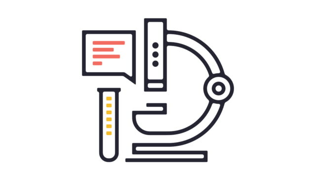 research icon animation - outline stock videos & royalty-free footage
