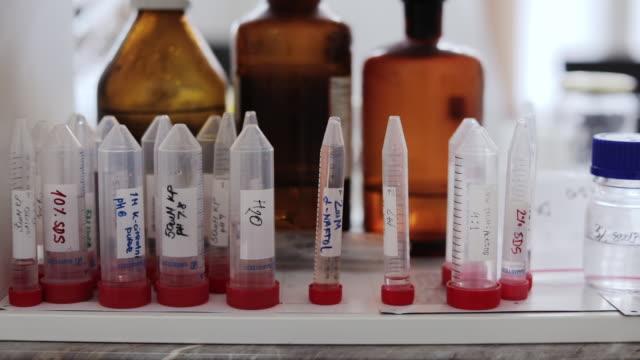 vídeos de stock e filmes b-roll de research laboratory - vacina