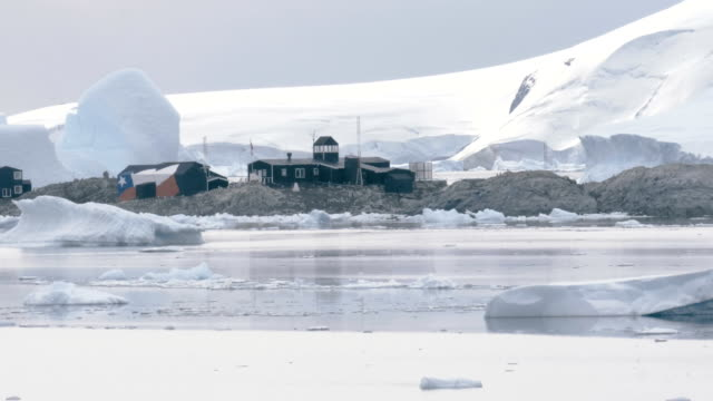 Research station in Antarctica