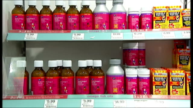 research suggests vitamin supplements may increase risk of death england london int sign reading 'vitamins' above shelves in boots pharmacy with... - nutritional supplement stock videos and b-roll footage