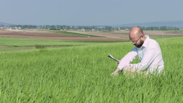 Researcher in field