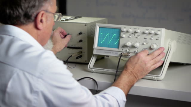 researcher - oscilloscope stock videos & royalty-free footage