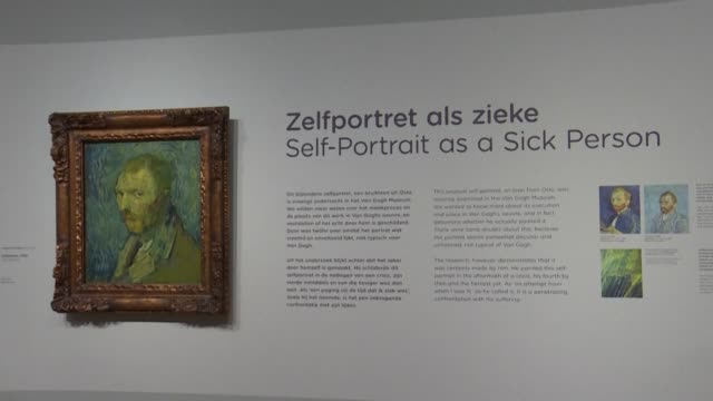 researchers confirm that a haunting selfportrait of vincent van gogh is genuine after decades of uncertainty saying it was the only work painted by... - psychosis stock videos & royalty-free footage